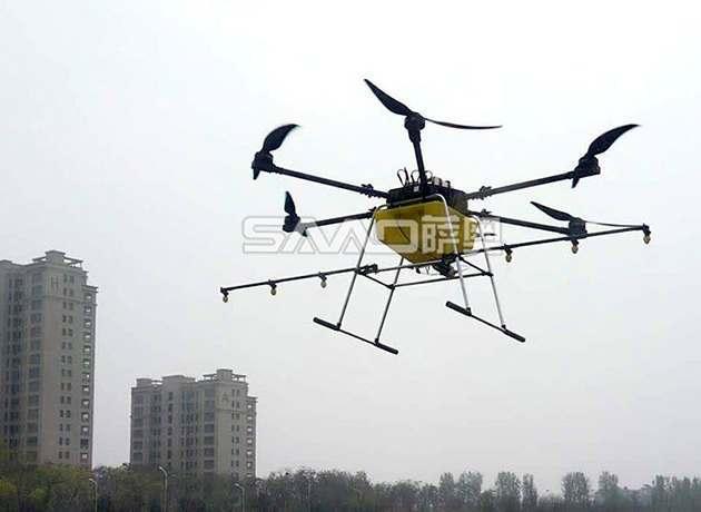 20公斤黄色版植保无人机