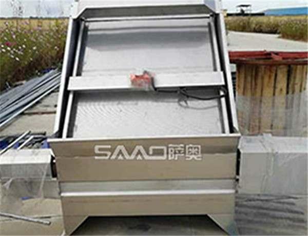 SAX系列不锈钢斜筛式固液分离机